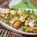 veganer Brotzeitsalat mit Champignons und Kartoffeln