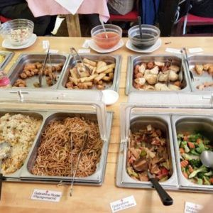 veganes All-you-can-eat-buffet