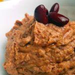 schneller, veganer Aufstrich aus Kidneybohnen und Tomaten
