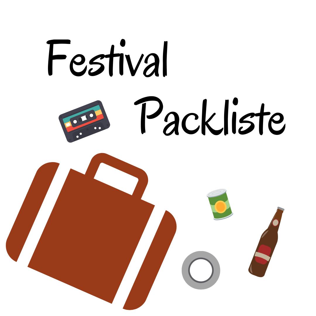vegane Packliste für Festivals